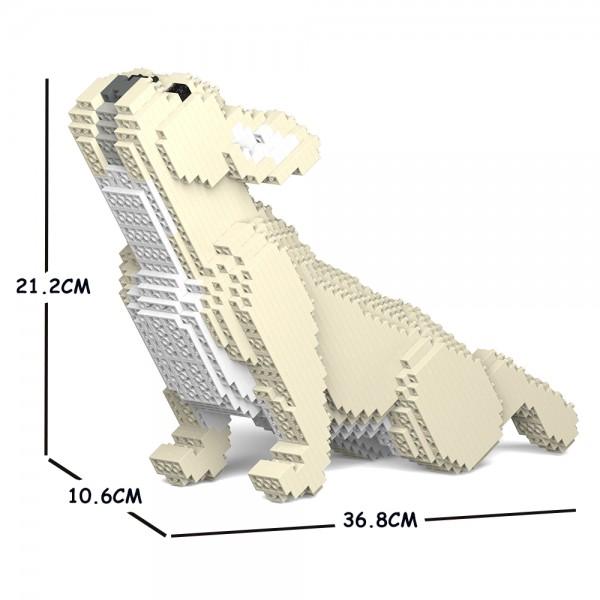猫 最新号掲載アイテム ネコ ねこ 犬 いぬ 動物 block animal dog 販売期間 限定のお得なタイムセール cat 05S-M02 大人向けおもちゃ フレンチ Sculptor パズル ジェッカブロック ブルドッグ ST19FB05-M02 JEKCA ホビー