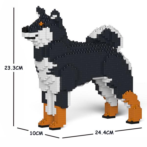 JEKCA ジェッカブロック 柴犬 01S-M02 Sculptor ST19PT06-M02