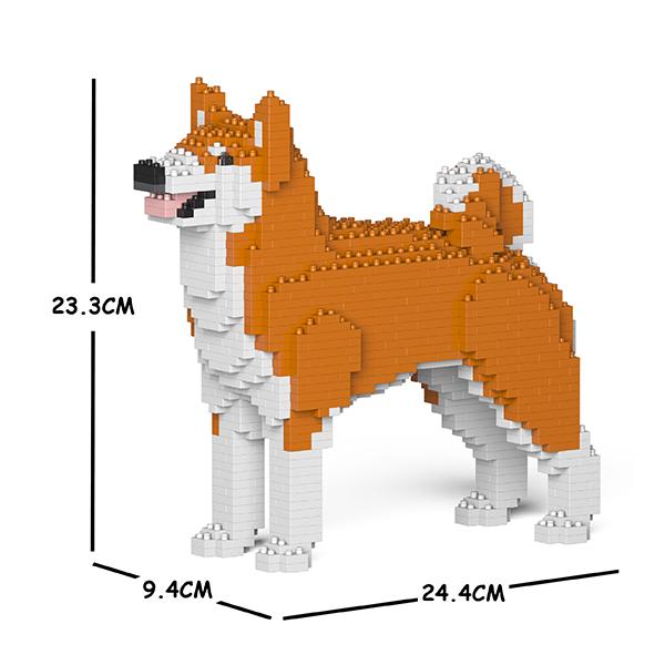 JEKCA ジェッカブロック 秋田犬01S-M01 Sculptor