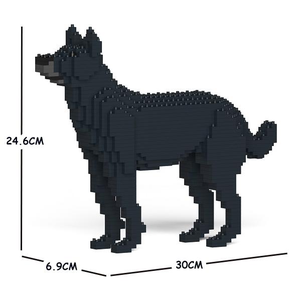 猫 ネコ ねこ 犬 いぬ イヌ 動物 block dog Sculptor cat 雑種犬 01S-M02 日時指定 高額売筋 ジェッカブロック JEKCA animal