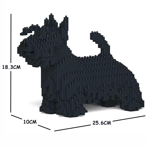 猫 激安セール ネコ ねこ 犬 いぬ お歳暮 イヌ 動物 block animal cat JEKCA dog テリア Sculptor ジェッカブロック 01S-M01 スコティッシュ
