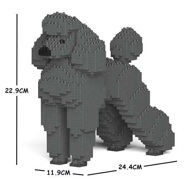 JEKCA ジェッカブロック スタンダードプードル 01S-M03 Sculptor