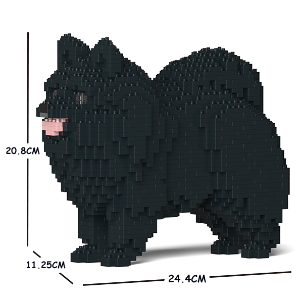 JEKCA ジェッカブロック ポメラニアン 02S-M03 Sculptor
