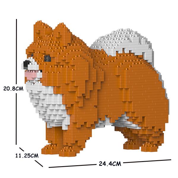 猫 ネコ ねこ 犬 新色追加 いぬ イヌ 動物 block animal 02S-M05 希望者のみラッピング無料 dog cat ポメラニアン ST19PM02-M05 Sculptor ジェッカブロック JEKCA