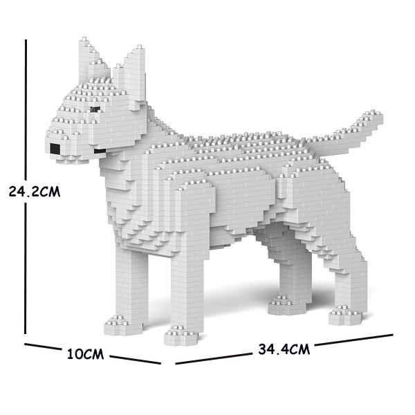 猫 ネコ ねこ 犬 いぬ イヌ 動物 block animal dog ジェッカブロック 数量は多 ST19PT47-M03 cat ブル 01S-M03 通販 激安◆ JEKCA イングリッシュ テリア Sculptor
