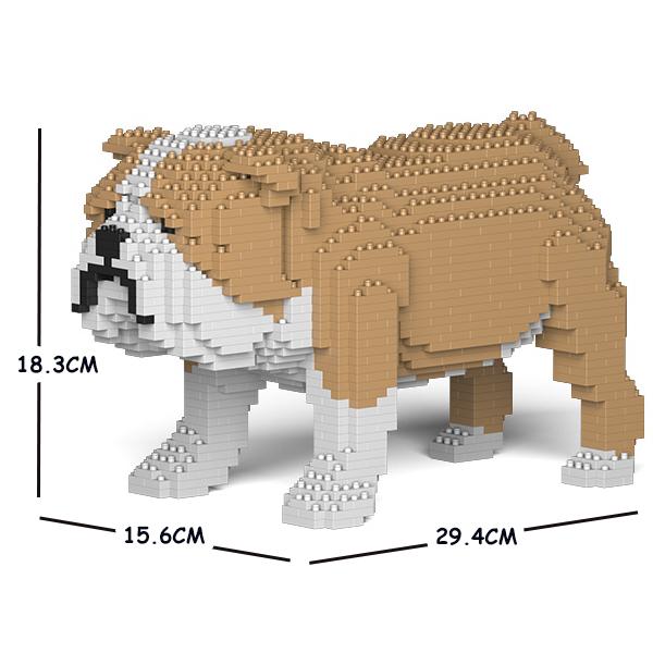 JEKCA ジェッカブロック イングリッシュ・ブルドッグ 01S-M03 Sculptor ST19PT17-M03