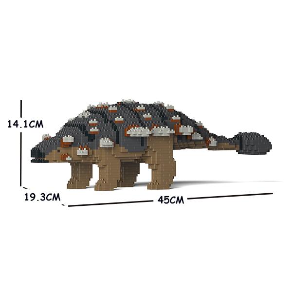 JEKCA ジェッカブロック 恐竜 アンキロサウルス 01S-M01 Sculptor ST19DN04-M01