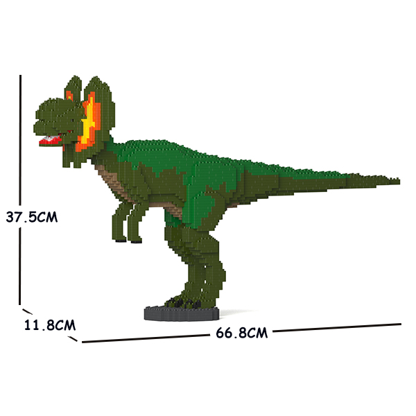 JEKCA ジェッカブロック 恐竜 ディロフォサウルス 01S-M01 Sculptor ST19DN03-M01