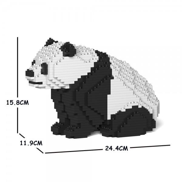 JEKCA ジェッカブロック ジャイアントパンダ 04S Sculptor ST19ML22