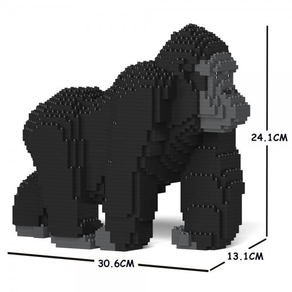 お歳暮 動物 猫 ネコ 犬 いぬ 驚きの価格が実現 イヌ jekca block blocks cats dogs dog cat ゴリラ animal Sculptor ジェッカブロック ST19ML25 animals buildingblocks 01S JEKCA