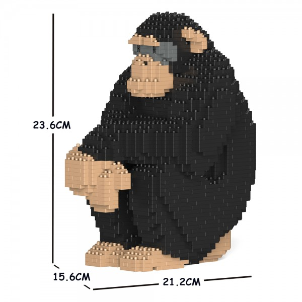 JEKCA ジェッカブロック チンパンジー 01S Sculptor ST19ML26