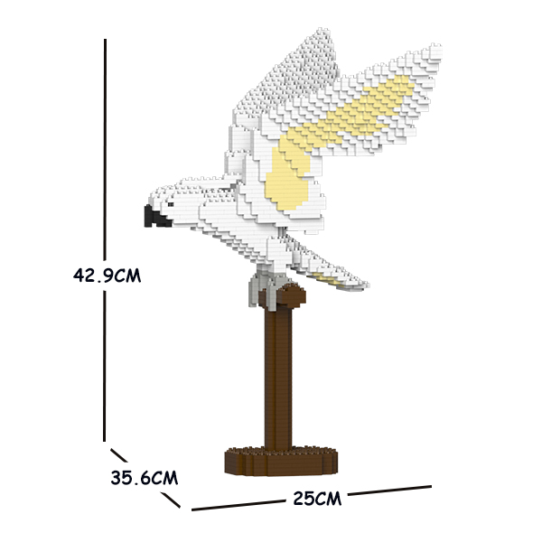 JEKCA ジェッカブロック タイハクオウム 02S Sculptor ST19MA18