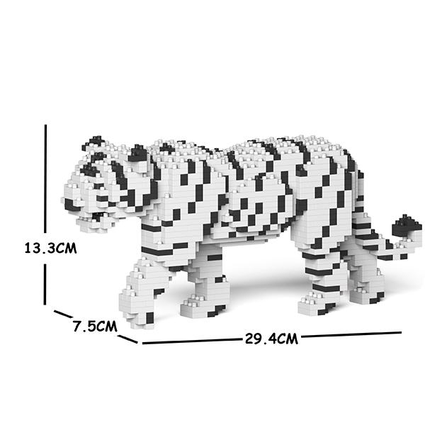 JEKCA ジェッカブロック ホワイトタイガー 01S Sculptor ST19ML45