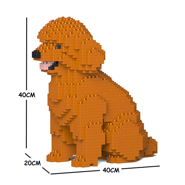 猫 ネコ ねこ 犬 いぬ 動物 block animal dog マーケット cat パズル 03C-M04 CM19TPD03-M04 大人向けおもちゃ JEKCA お気に入り トイ 送料無料 Craftsman ジェッカブロック ホビー プードル