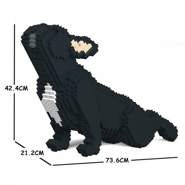 猫 ネコ ねこ 休日 犬 いぬ 動物 block animal dog cat パズル ジェッカブロック CM19FB05-M03 フレンチ 大人向けおもちゃ JEKCA Craftsman 05C-M03 送料無料 優先配送 ブルドッグ ホビー