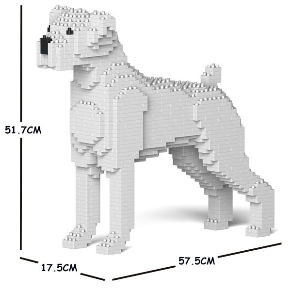 猫 ネコ ねこ 犬 いぬ 動物 block animal ついに入荷 dog cat パズル ホビー 01C-M03 CM19PT40-M03 最新号掲載アイテム Craftsman 大人向けおもちゃ 送料無料 JEKCA ジェッカブロック ボクサー