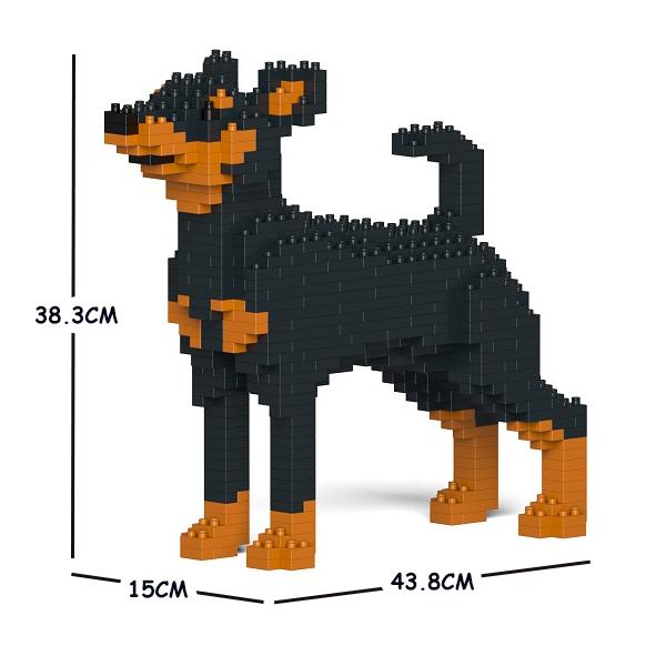 JEKCA ジェッカブロック ミニチュア・ピンシャー 01C-M01 Craftsman CM19PT35-M01