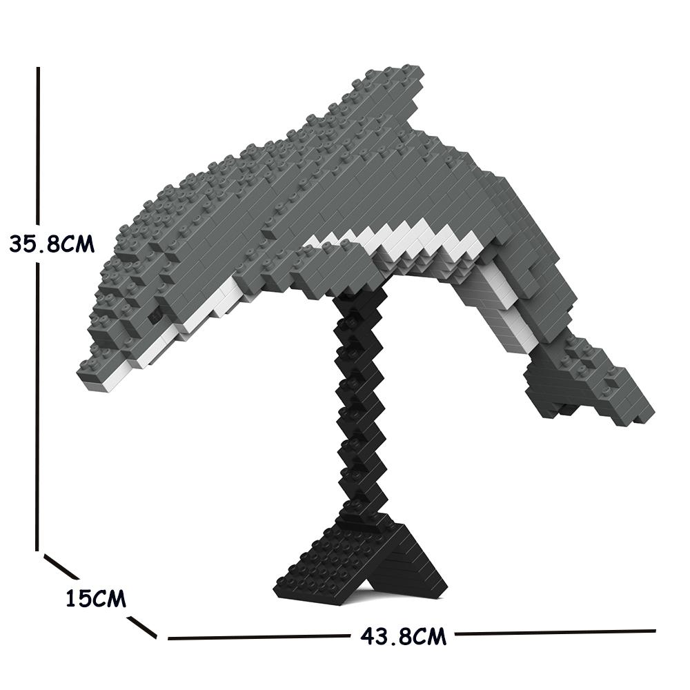 JEKCA ジェッカブロック イルカ02C Craftsman CM19ML42