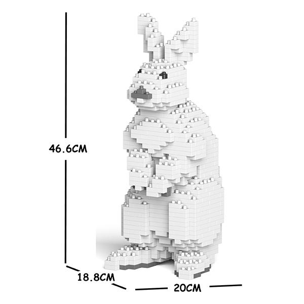 JEKCA ジェッカブロック ウサギ 01C Craftsman CM19ML07