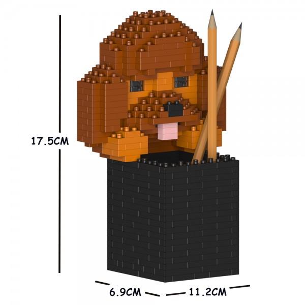 動物 猫 ネコ 犬 いぬ イヌ jekca block blocks cats dogs 通販 激安 buildingblocks animal ST01DPC04 dog Sculptor 業界No.1 ペン立て 文房具 01S ジェッカブロック animals インテリア雑貨 プードル cat JEKCA