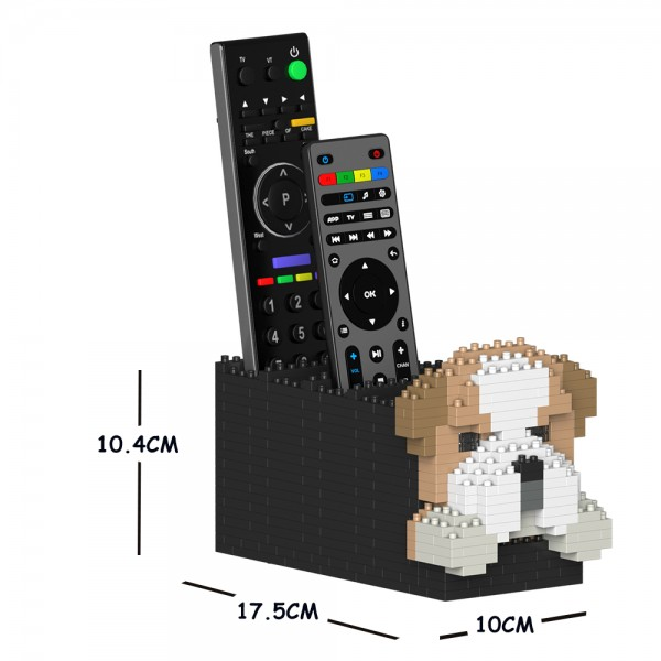 JEKCA ジェッカブロック イングリッシュ・ブルドッグ リモコンラック 01S Sculptor ST09DRC01