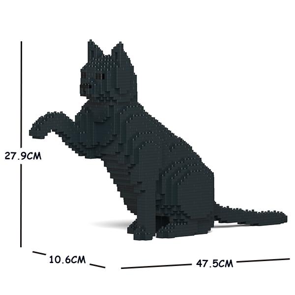 JEKCA ジェッカブロック 黒猫 08S-M02 ねこ Sculptor 送料無料激安祭 限定タイムセール