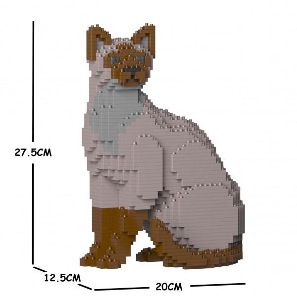 猫 ネコ ねこ 犬 いぬ 新作販売 イヌ 動物 block 01S-M01 トンキニーズ レビューを書けば送料当店負担 cat JEKCA animal Sculptor ジェッカブロック dog