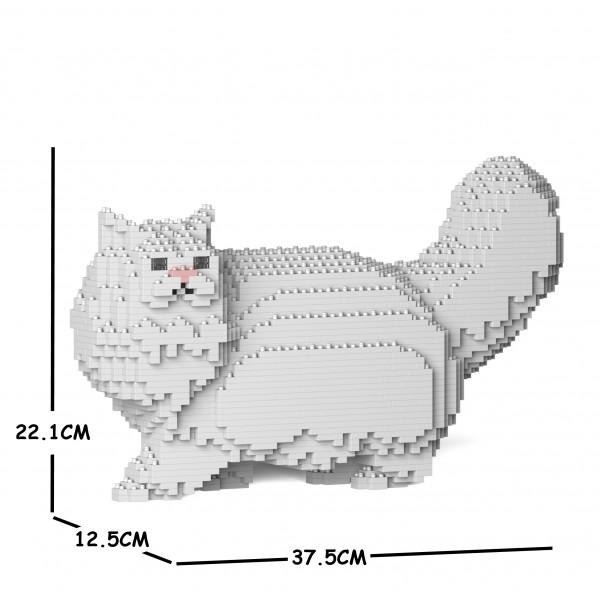 日時指定 猫 ネコ ねこ 犬 いぬ イヌ 動物 block dog ペルシャ JEKCA animal 02S-M01 Sculptor ジェッカブロック cat 数量限定アウトレット最安価格