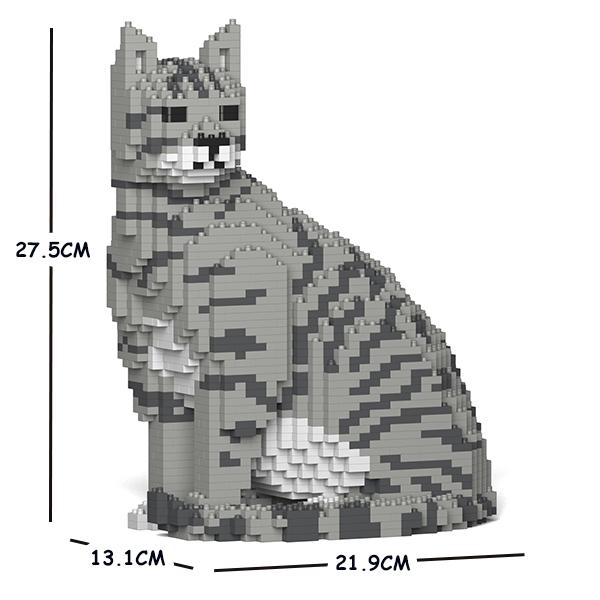 JEKCA ジェッカブロック グレートラ猫 (浅い色) ねこ 02S-M03 Sculptor