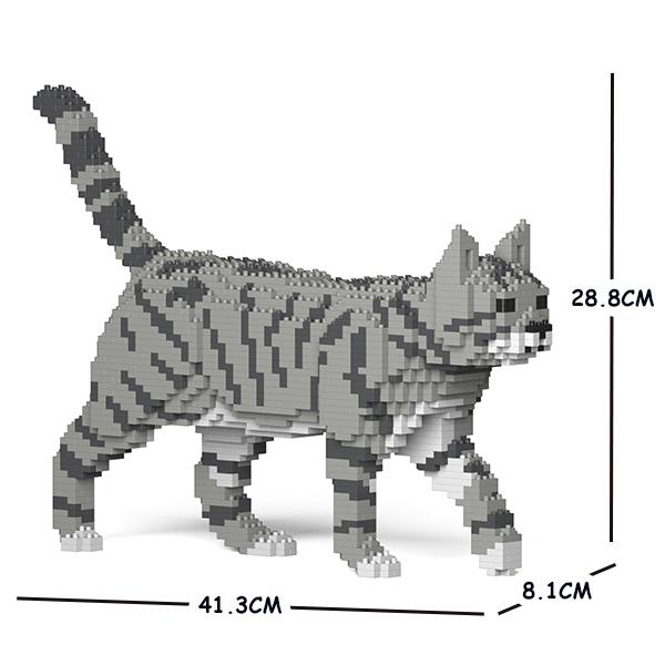 猫 新色追加して再販 ネコ セール 登場から人気沸騰 ねこ 犬 いぬ イヌ 動物 block animal Sculptor cat dog グレートラ猫 ジェッカブロック 浅い色 JEKCA 03S-M03