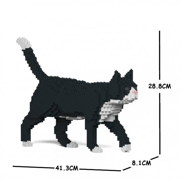 JEKCA ジェッカブロック タキシード猫 02S Sculptor