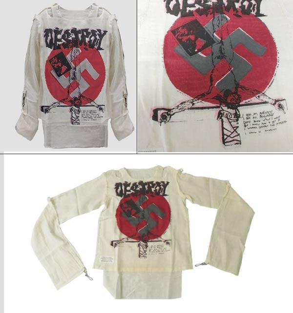 666 From Vivienne Westwood of seditionaries ( sedishonarez ) reprint punk monumental Muslim top (bondage top), Vivienne Westwood, rock fashion, punk fashion, so rock, punk