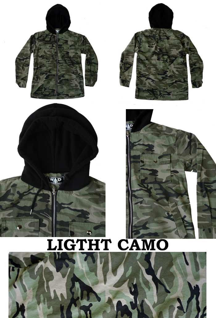 00cd6b89028d7 ... Camouflage (Camo) hooded ZIP hoodies 2 color Street rock punk fashion  mode cool men's ...