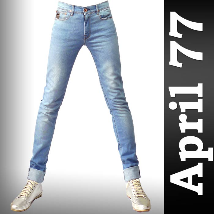 April77 (April 77) JOEY American Stock Triple light wash denim skinny pants APRIL 77, april77 april 77, skinny jeans, skinny men's rock fashion (men's skinny jeans and Rakuten store)