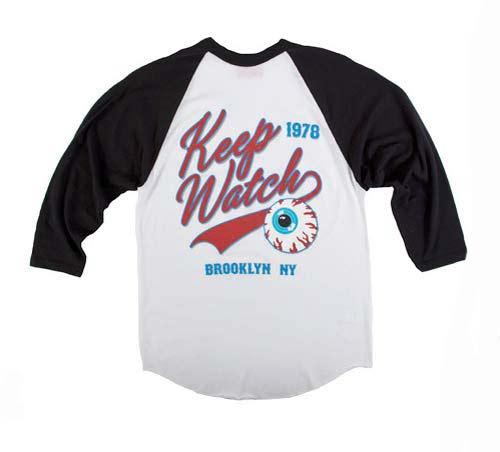 米什卡 (米什卡) 露天看台座位体育团队标志风格设计插肩 t 恤街头滑板朋克摇滚 t 恤 (街头男式上衣五香守望) 05P01Jun1405P01Nov14