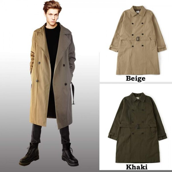 jellybeans-select | Rakuten Global Market: Double trench coat ...