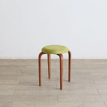 Forest フォレスト 01スツールラバー積層合板 ブラウン(ウレタン塗装)【1年保証】 リビングチェア キッチン カフェ ダイニング コンパクト chair スタッキング可北欧 シンプル ナチュラル おしゃれ オススメ