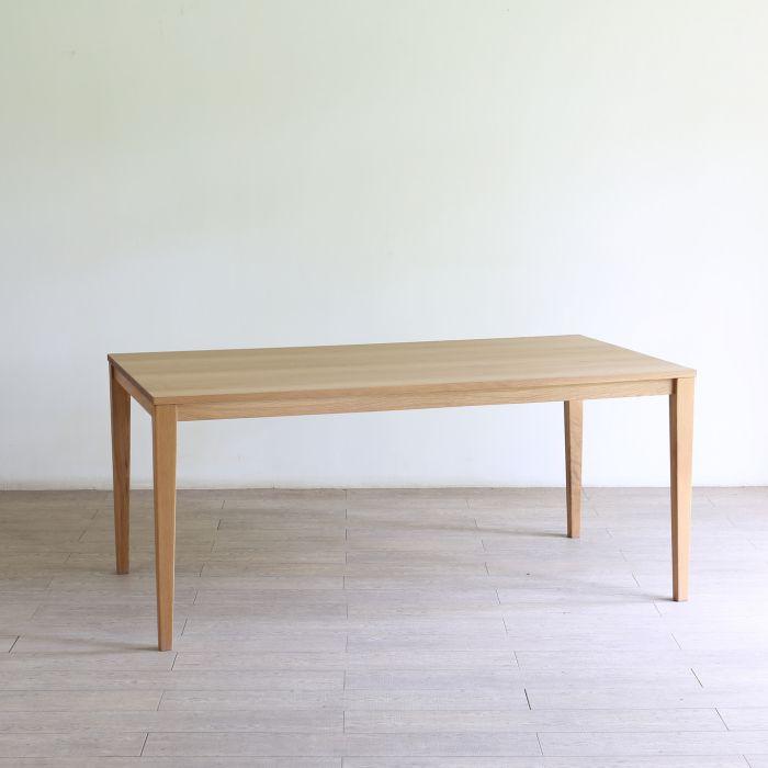 Forest フォレスト 37テーブル(ホワイトオーク)1300mm x 750mmホワイトオーク無垢【1年保証】 リビングテーブル キッチン カフェテーブル ダイニングテーブル dining table 北欧 シンプル ナチュラル おしゃれ オススメ