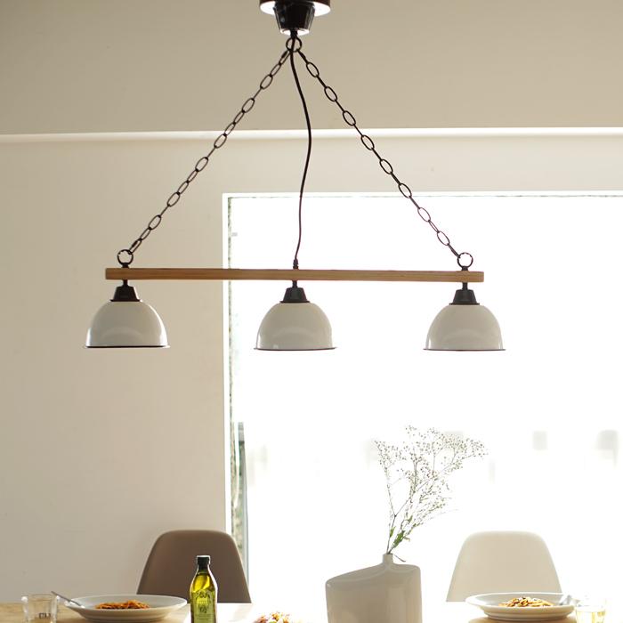 【1年保証】【照明】【ペンダントライト】【ライト】【3灯】GENDER WOOD ROD 3PENDANT LAMP (電球なし)