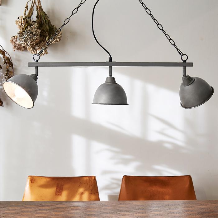 【1年保証】【照明】【ペンダントライト】【ライト】【3灯】COARSE SHADE _ 3 BULB PENDANT LAMP(電球なし)