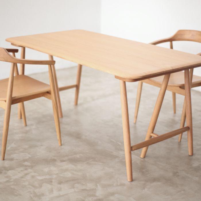 【1年保証】【テーブル】【ダイニングテーブル】【無垢材】 ROSS ダイニングテーブル ロス 150  関家具