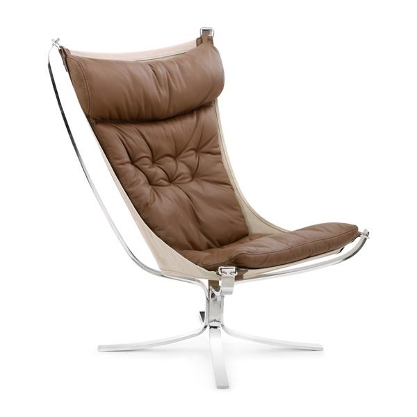 ファルコンチェア L 9231BA Falcon Chair シグード・レッセル Sigurd Resell ラウンジチェア パーソナルチェア イージーチェア 北欧 【1年保証】【法人対応可】 デザイナーズ家具 リプロダクト ミッドセンチュリー