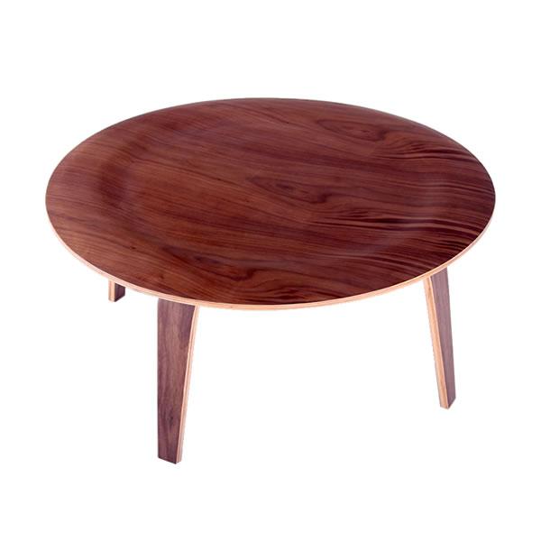 ラウンド コーヒーテーブルCTW Coffee Table チャールズ・イームズ Eames センターテーブル ローテーブル 【1年保証】【法人対応可】 デザイナーズ家具 リプロダクト ミッドセンチュリー