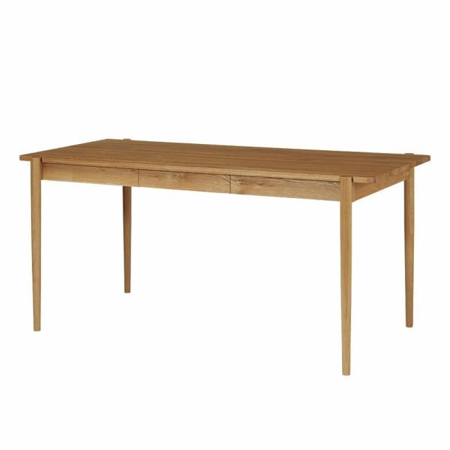 デントダイニングテーブルL DENT dining table【1年保証】 リビングテーブル 木製 北欧 ナチュラル モダン