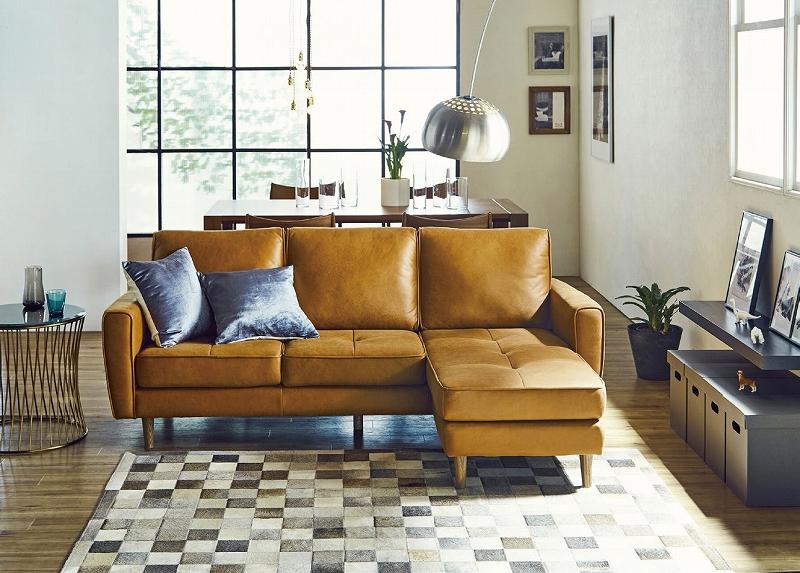 関家具 Relax Foam リラックスホーム カウチソファー couch sofa Fri フリー レザーテックス LEATHERTEXリビング おしゃれ シンプル モダン おしゃれ おすすめ