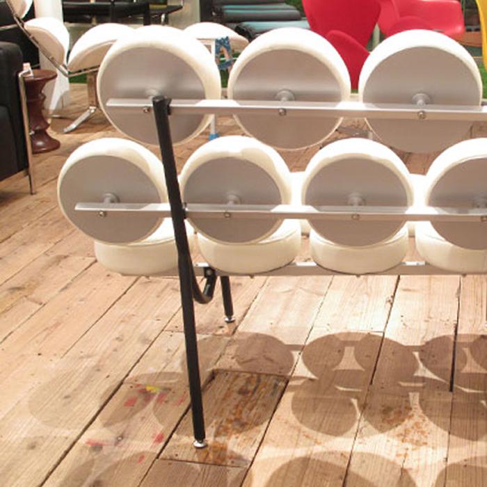 Two Sofa Credit Marshmallow Sofa Double Sofa / George Nelson 10P10Nov13