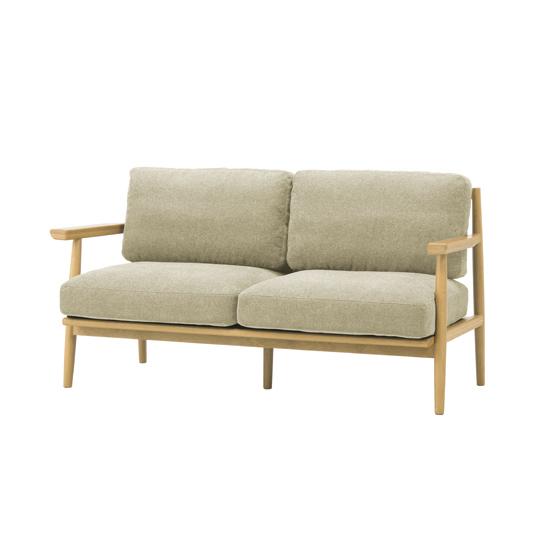 【送料無料】【8/4-8/9まで当店ポイント10倍】 half sofa 2 seater / ハーフ ソファ 2人掛け sieve