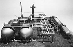 KIT-1008石油精製基地キット HOスケール
