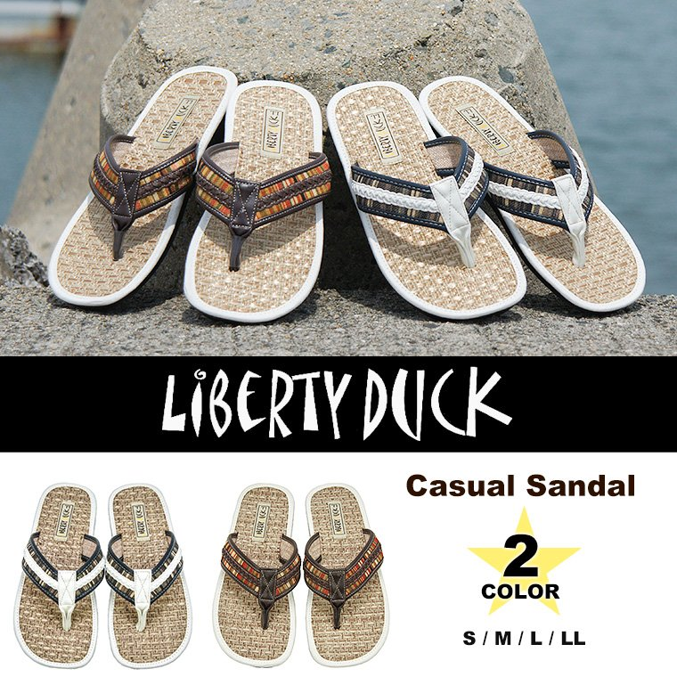 89b4ab85d2e6dc The casual sandals for the man to send from LIBERTY DUCK (liberty dark)!