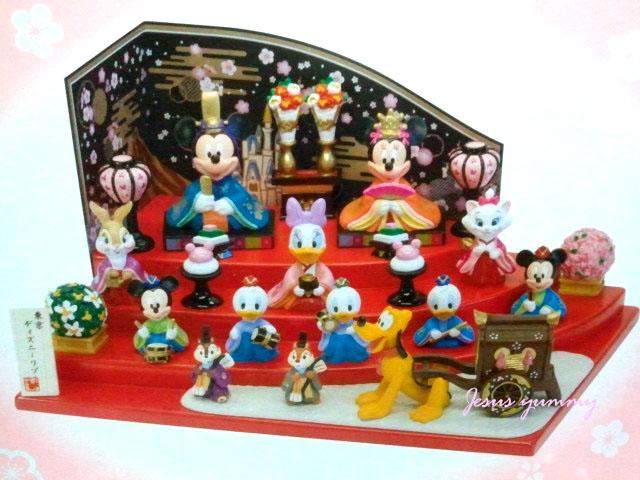 ディズニー ひな人形 (大) 雛人形 ひな祭り お雛さま ミッキー&ミニー&仲間たち 桃の節句 インテリアにも♪ 東京ディズニーリゾート限定 【Disney】